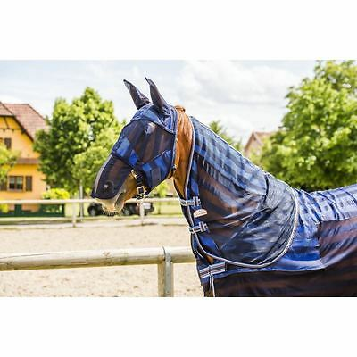 Equi-Theme Refreshing Cob Horse Yard Water Cooling Self Gripping Fly Mask