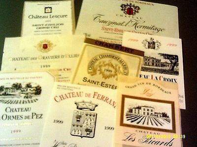 200 different BORDEAUX AOCs Lot C13B (see list)