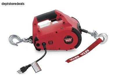 WARN 885000 Corded PullzAll 120V AC 1,000 lbs Chain Speed Control Trigger Load