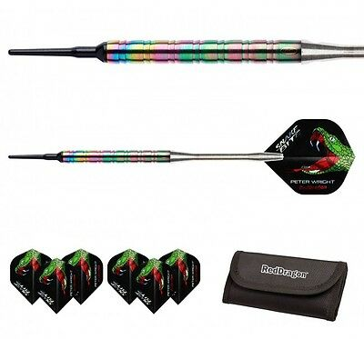 "Red Dragon Dart - Peter ""Snakebite"" Wright 1 DNA Rainbow 18g (Soft-Dart) Pfeile"