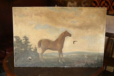 Late 19th century Painting of a horse by Constante