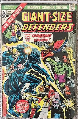 Giant-Size Defenders #5 - 3rd Guardians Of The Galaxy - 68 Pages (Marvel, 1975)