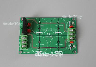 25A Audio Rectifier Filter Dual Power Supply Board For LM3886 TDA7293 Amplifier