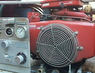 Robwen fire suppression system.  Self contained. Perfect prepper rig..