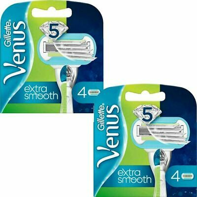 8 x Gillette Venus Embrace Women's Sensitive 5-Bladed Smooth Razor Blade Refills