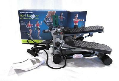 Pro Form Mini Stepper with Resistance Bands Leg and Arm Workout
