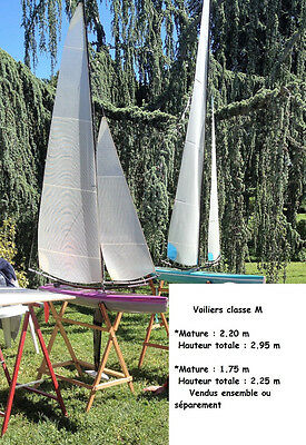 Voiliers Rc Classe M     2 Coques