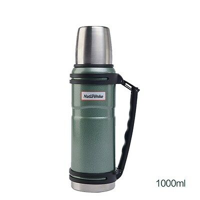 1000ml Travel Stainless  Stell Vacuum Thermos Bottle Outdoor Camping Vacuum Cup