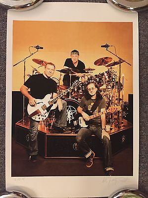 Neil Peart RUSH lithograph Andrew MacNaughtan Signed VERY RARE limited #37/50