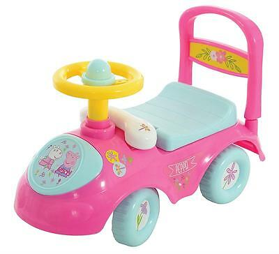 Peppa Pig My First Ride On Push Along Car Toy Toddlers Children Vehicle Gift