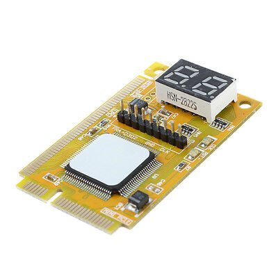 Diagnostico Postal USB Mini PCI-E PCI LPC Analizador de PC Probador M9X4