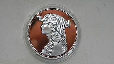 1993 Egypt 5 Pounds Cleopatra Silver Proof coin