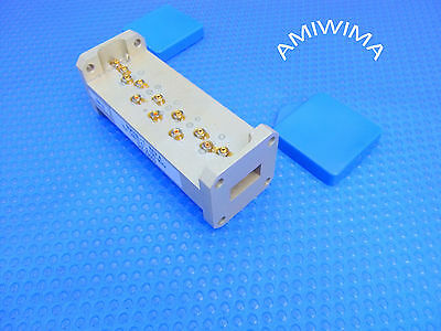 Ku-Band Extended Microwave Transmit Receive Waveguide Filter Wr-62 14 Ghz