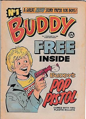 BUDDY COMIC No 1 FEB 14 1981 IN VERY GOOD CONDITION