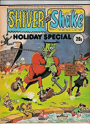 Shiver And Shake Holiday Special 1974 First One In Good Condition