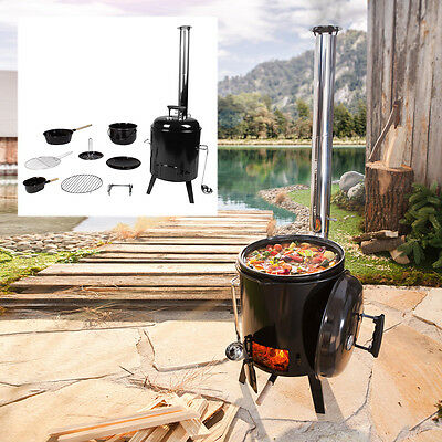 Oven Stew Kettle Barbecue Grill Field Kitchen Soup Chicken Roasting Tin
