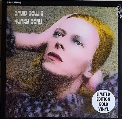 David Bowie - Hunky Dory Limited Edition Gold Coloured Lp Vinyl Record Sealed