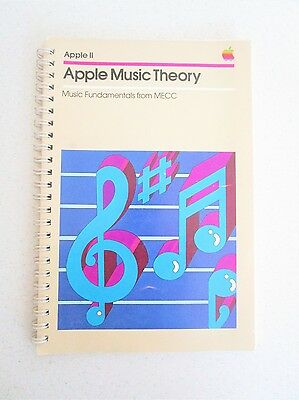 Vintage Apple Computer II Apple Music Theory Fundamentals from MECC 1980 Booklet
