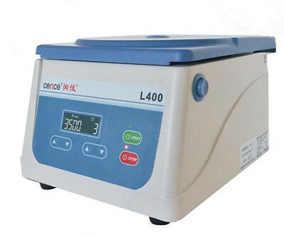 CE L400 Desktop Lab Centrifuge Low-speed automatic balance centrifuge 6×15ML