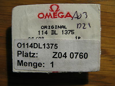 Omega Stainless Steel & Gold Plated Link - Part No 114DL1375 - Brand New in Pack