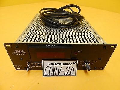 MKS Instruments PDR-C-1C Power Supply Readout Tested Used Working