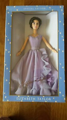 Mattel BARBIE Doll Special Edition White Diamonds Elizabeth Taylor