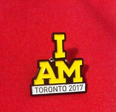I AM Invictus Games Toronto 2017 Pin For Prince Harry & VIP (Trail Production)