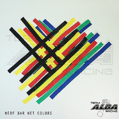 YFZ 450 YFZ450 Nerf Bar Nets for Alba Tusk Rock Sixity Goldspeed  Alba Racing BJ