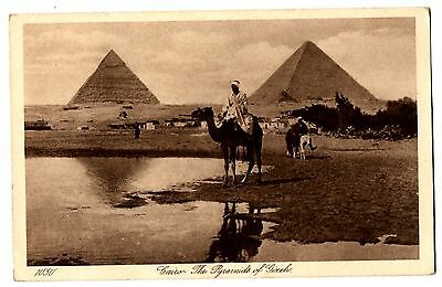 CPA EGYPTE - LE CAIRE - 1050. CAIRO. The Pyramids of Gizeh