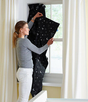 Portable Blackout Curtain Home Or Travel Baby Kids Bedroom Blind Window Cover