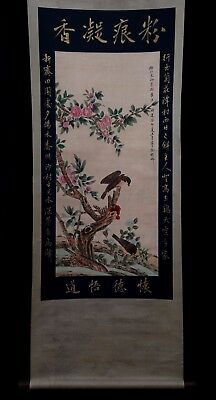 Nice Rare Old Chinese Handwork Landscape Scroll Painting Mark XuZhenQing PP648
