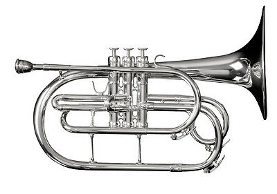 Adams MM1 Marching Mellophone w/ Case (Lacquer) - Demoed Once