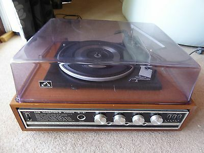 """Record Player """"His Masters Voice 8+8  2518 area"""