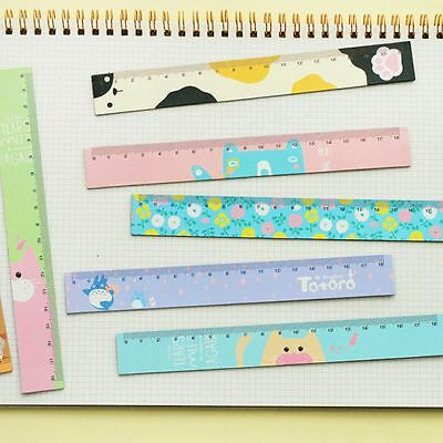 Creative Cute Korean For Stationery Cartoon Ruler Student Kids