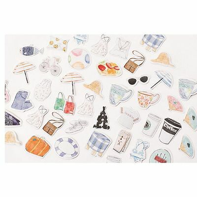 Daily Diary Stationery Decoration Label Diy 45 Sticker Kawaii