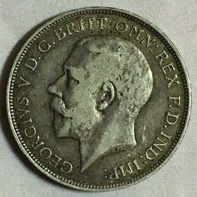 1911 Great Britain One Florin Coin