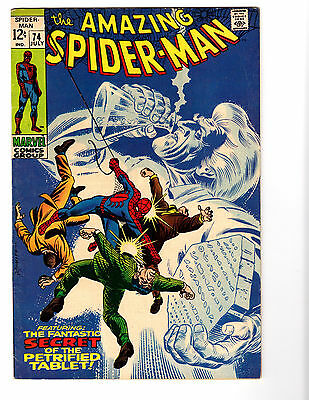 Amazing Spider-Man #74 (7/69) F/VF (7.0) 2nd Silvermane! Great Silver Age!