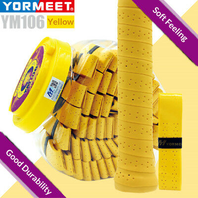 60pcs Viscosity and Punching Tennis Squash Racquet Band Grip Tape Overgrip