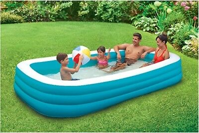 "Outdoor Swimming Pool  Summer Family PlayDay 120""New Fun Deluxe Inflatable Kids"