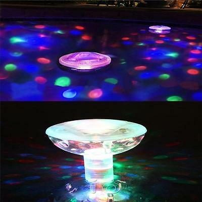 Floating Underwater Led Aquarium Light  Swimming Pool Disco Pub Home Bath