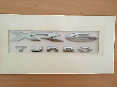 Xr6 Turbo Rear Boot Lid Badge For Ba Bf Series