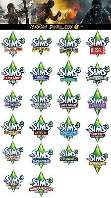 The Sims 3 Expansion Packs PC / Mac - Digital Download - CD Key - Addons
