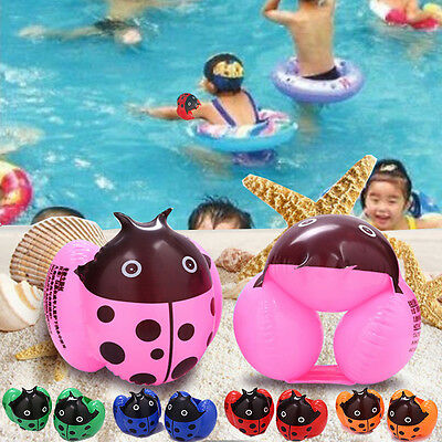 Cute Random Childrens Kid Floating Inflatable Sleeves Swimming Arm Bands