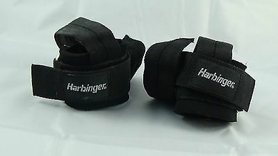Harbinger PRO Padded Reinforced Weightlifting Strap | ANTI-SLIP DURA-GRIP STYLE