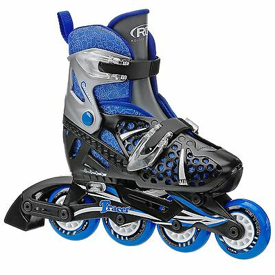 Roller Derby Boy's I-140BM Tracer Adjustable Inl... - Brand New +  Free Shipping
