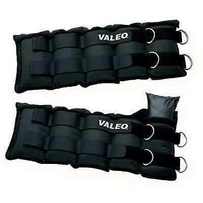 Valeo AW20 Adjustable Ankle / Wrist Weights (10-... - Brand New +  Free Shipping