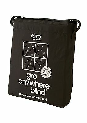 The Gro Company Gro Anywhere Blind Curtain Black - Brand New +  Free Shipping