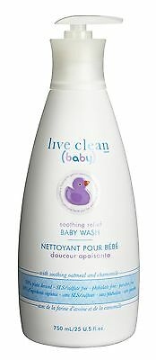 Live Clean Baby shampoo and wash soothing oatmea... - Brand New +  Free Shipping