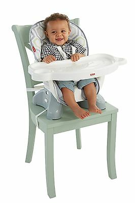 Fisher-Price SpaceSaver High Chair - Geo Meadow - Brand New +  Free Shipping
