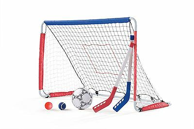Step2 Kickback Soccer Goal And Pitch Back - Brand New +  Free Shipping